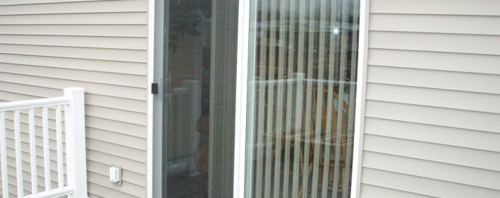 Choosing Decko patio doors will give your patio entrance style and durability.