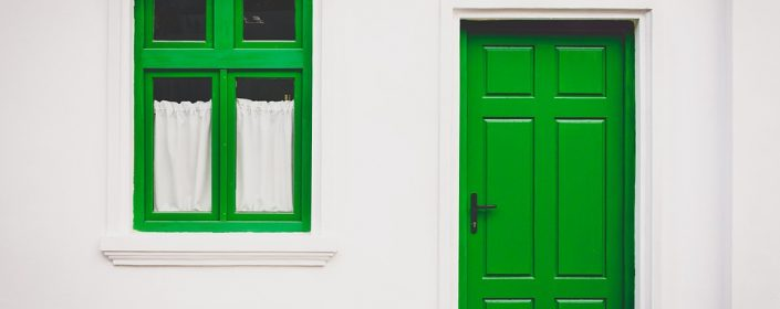 Doors in Ontario can easily improve your home's curb appeal - all it takes is a simple coat of paint!